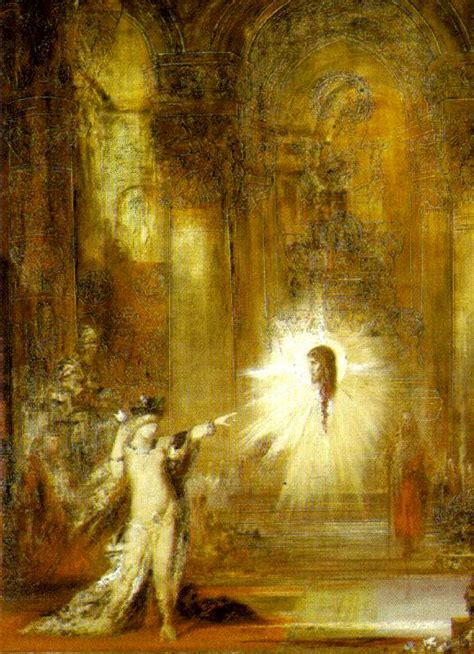 the appartion the apparition 1876 gustave moreau wikiart org
