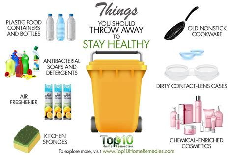 Should You Do All The Cooking by 10 Things You Should Throw Away To Stay Healthy Top 10
