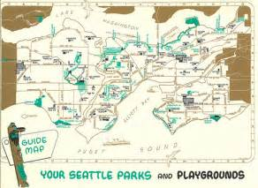 Seattle Zoning Map by Seattle Park Map 1958 Click Quot All Sizes Quot For Best View