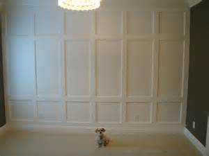 How To Do Wainscoting On Walls White Wainscoting Feature Wall Diy Projects