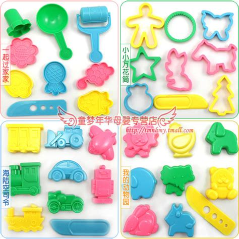 23 pieces free shipping color 36 pieces free shipping color play dough model tool toys