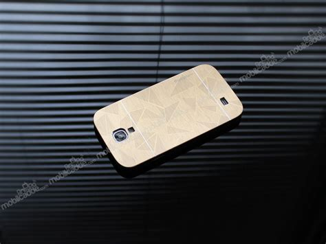 Galaxy S4 Metal By Motomo motomo prizma samsung i9500 galaxy s4 metal gold rubber k箟l箟f