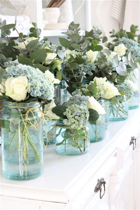 blue floral centerpieces 25 best ideas about blue flower arrangements on