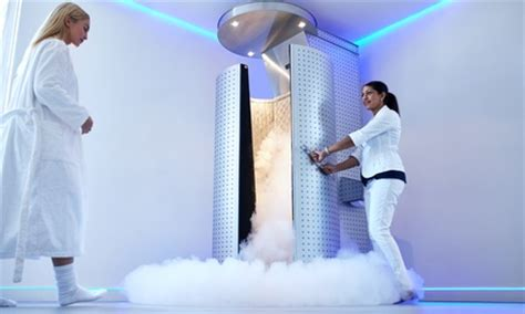 cryotherapy treatments cryo treatment room groupon