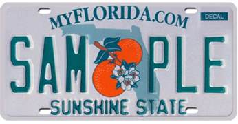 florida redesigning license plates for better traffic