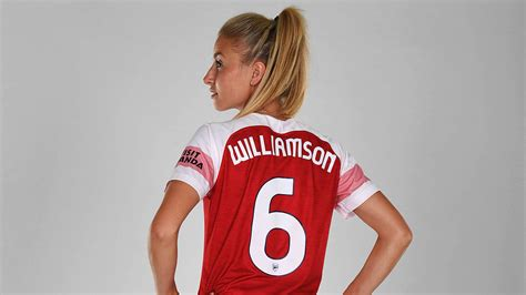 leah williamson    words feature news