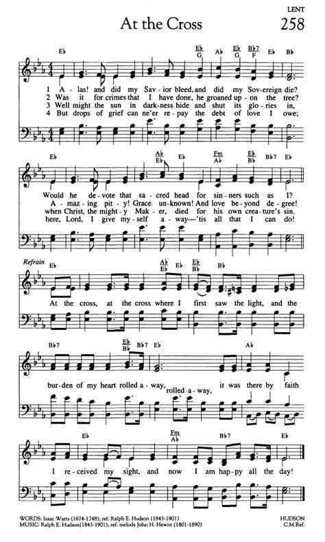 Worship and Rejoice 258. Alas! and Did My Savior Bleed