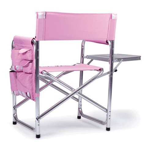 sports chair sports chair pink with stripes picnic time 809 00 102