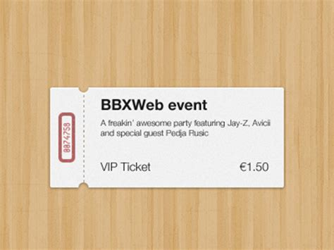 33 Free Ticket Templates Psd Mockups For Your Next Branding Project Ticket Design Template Photoshop