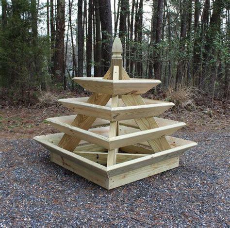 unique pyramid planter  great  growing