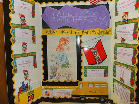 Kazoo Switcheroo Book Report by Reading Fair Projects