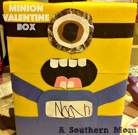 how to make a minion valentines day box minion box how to