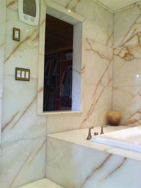 white onyx bathroom white onyx master bathroom modern bathroom seattle