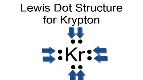 electron dot diagram youtube lewis dot structure for krypton atom kr youtube