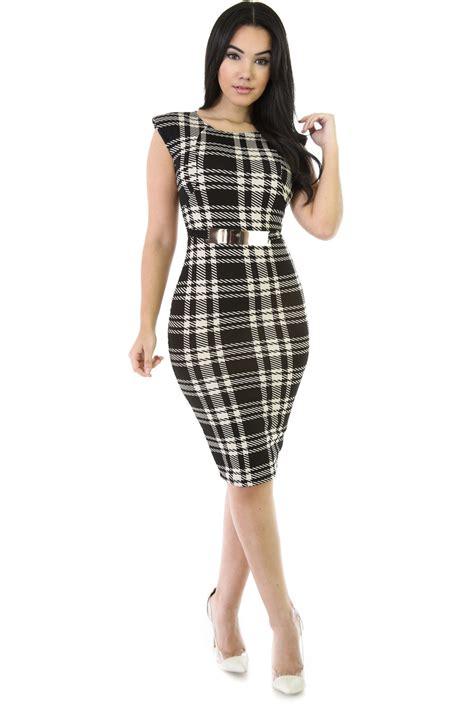 plaid design plaid design dress