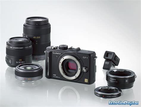 small with interchangeable lenses panasonic lumix dmc gf1 letsgodigital
