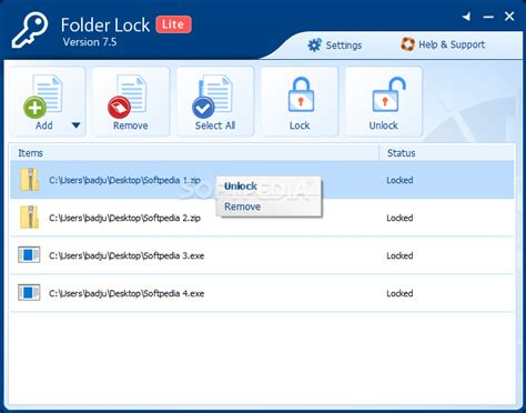 folder lock full version softpedia folder lock lite edition download