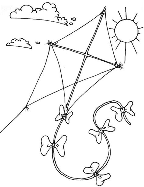 printable coloring pages kites printable kite coloring pages coloring me
