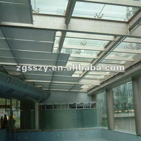 cortina para ventana de techo fts de desplazamiento persianas techo persianas de rodillo