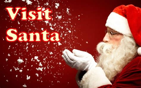 Visit Santa On The Santa Meet Mrs Clause And The Elves