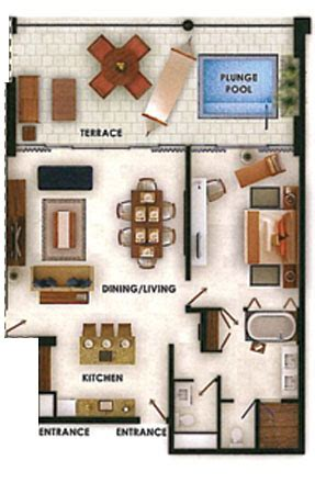 grand luxxe spa tower floor plan grand luxxe villa one bedroom suite nuevo vallarta