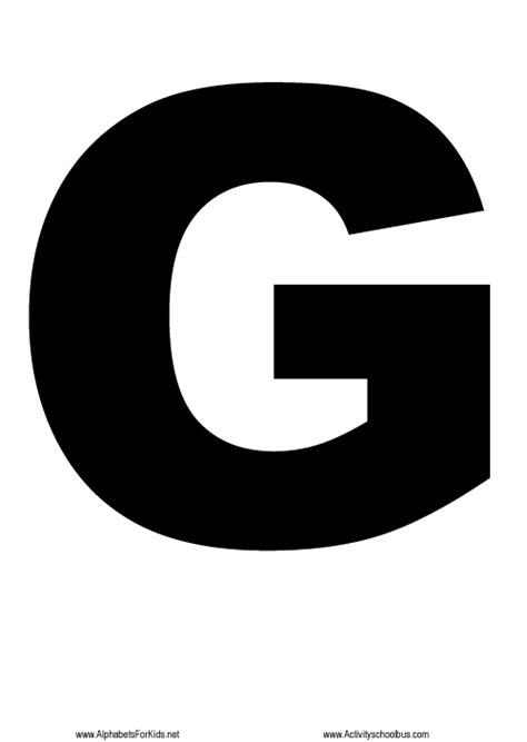 printable large capital letters letter capital g clipart best