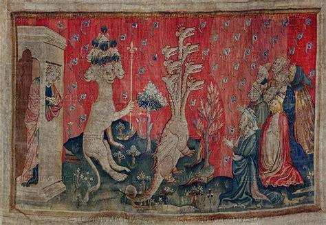 Tapisserie De L Apocalypse by Tapisserie De L Apocalypse Xiv Wiek Arrasy Tapestries