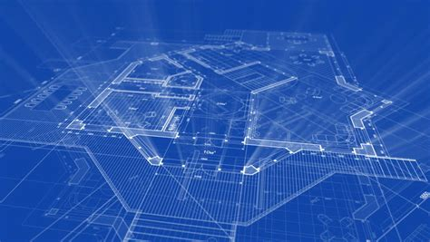 architecture blueprint stock video 765691 hd stock footage architectural blueprint of contemporary buildings blue