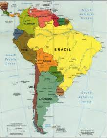 map of south america including mexico map of mexico and south america map of south america and
