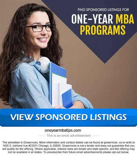 Um One Year Mba by Valinvest News Get An Mba In One Year Or Less