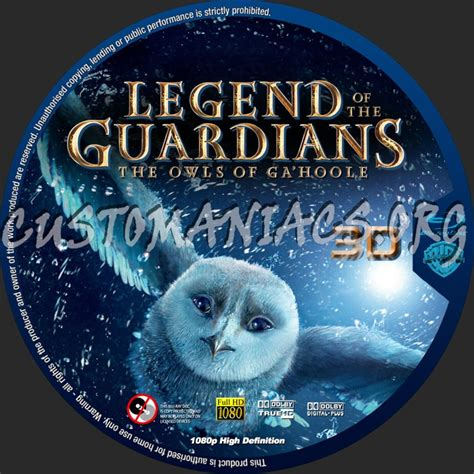 Legend Of Guardians 3d forum ripley labels dvd covers labels by customaniacs