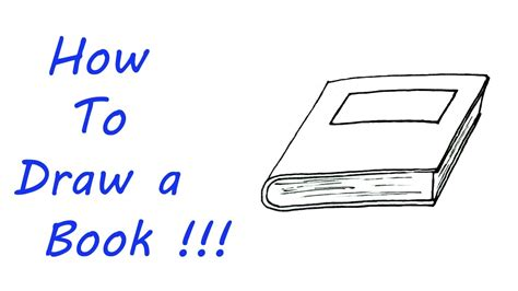 8 Drawing Book by How To Draw A Book Easy For