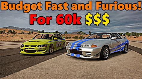 fast and furious budget forza horizon 3 budget fast and furious for less than