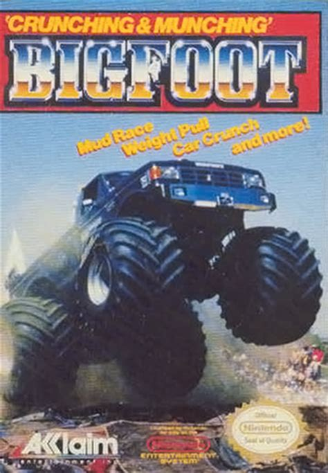 bigfoot monster truck games play bigfoot nintendo nes online play retro games online