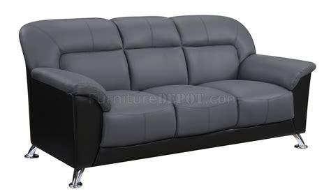 pvc sofa u9102 sofa loveseat in two tone pvc by global w options