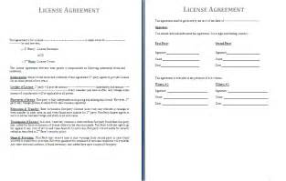 commercial property licence agreement template license agreement template free agreement and contract
