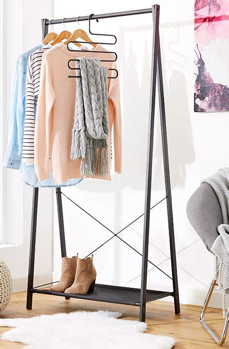 Kmart Clothes Rack by 3 Stylish Garment Rack Storage Ideas Kmart