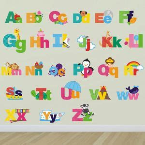 large alphabet wall stickers alphabet wall stickers
