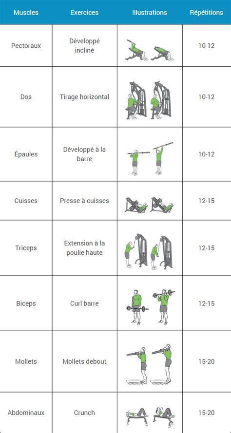 Programme Musculation Débutant   Espace Musculation.com