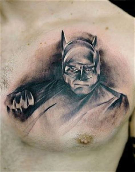 batman tattoo on chest batman chest tattoo tattoo from itattooz