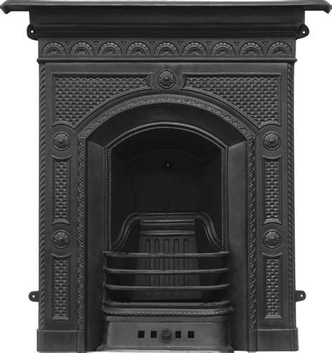 Cast Iron Fireplace Black by Hawthorne Black Finish Cast Iron Combination Fireplace Rx139