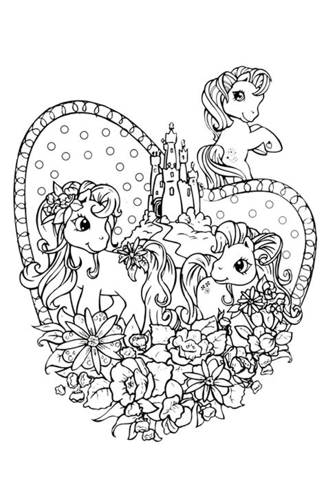 my little pony valentines day coloring pages my little pony coloring pages to print and color in for free