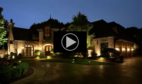 creating professional landscape lighting design