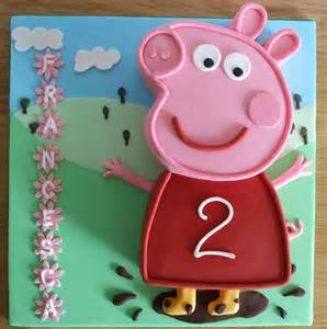Anime Cake Decorations Peppa Pig Cake Template Memes