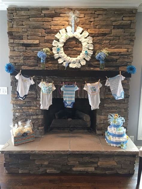 Baby Shower Decoration Ideas Boy by Best 25 Baby Shower Decorations Ideas On Baby