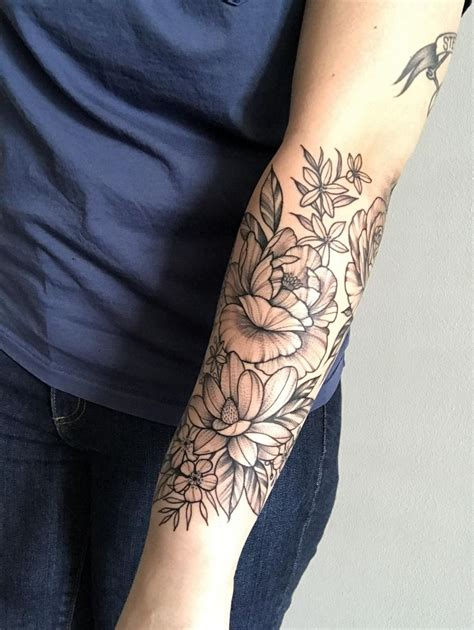 flower arm tattoo 98 best tattoos and piercings images on