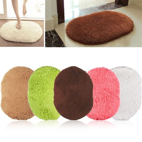 Plush Bathroom Rugs Non Slip Shaggy Mat Bath Floor Soft Memory Plush Rug For Bathroom Alex Nld