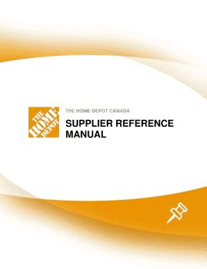 the home depot supplier reference guide fill