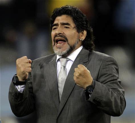 argentina coach diego maradona coach
