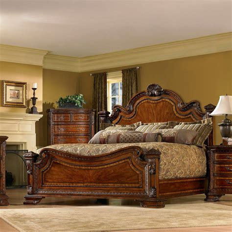 A R T Furniture S Old World Wood Bedroom Furniture Bedroom Collection Furniture